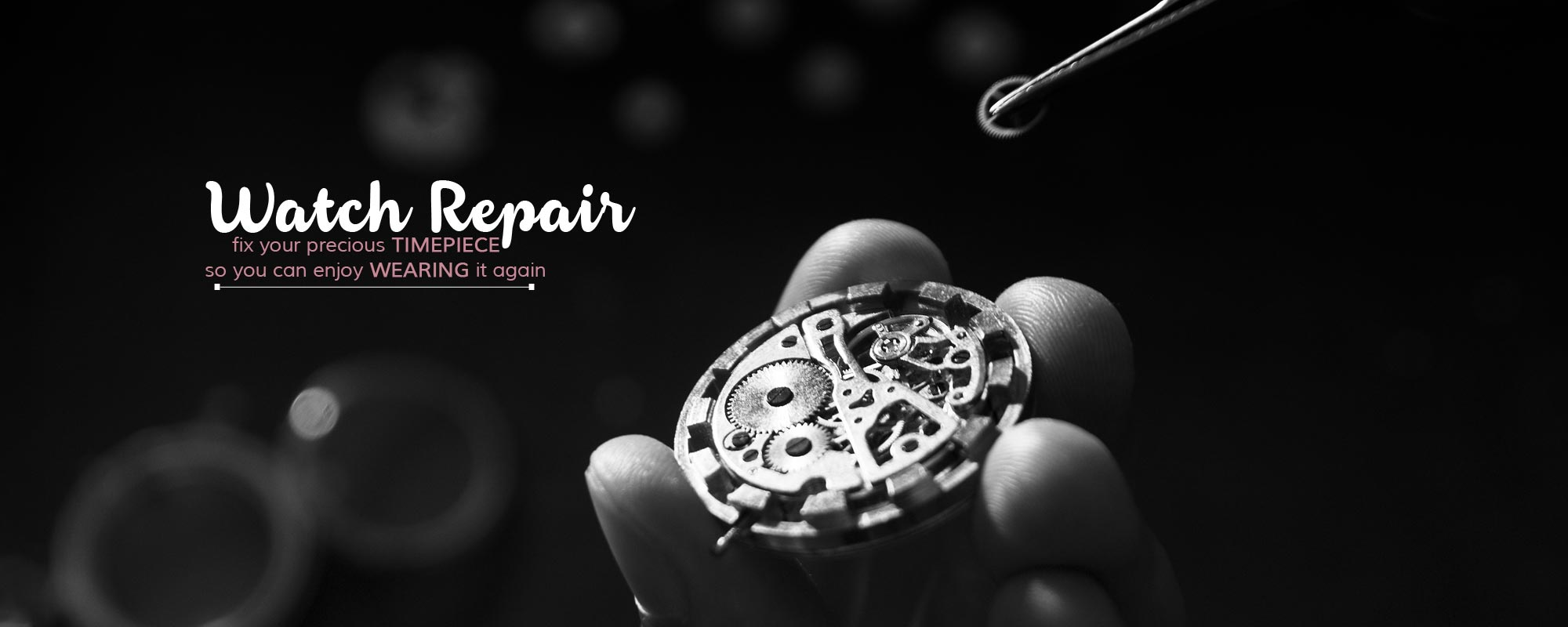 Watch Repair Service Available At Bailey^s Jewellers